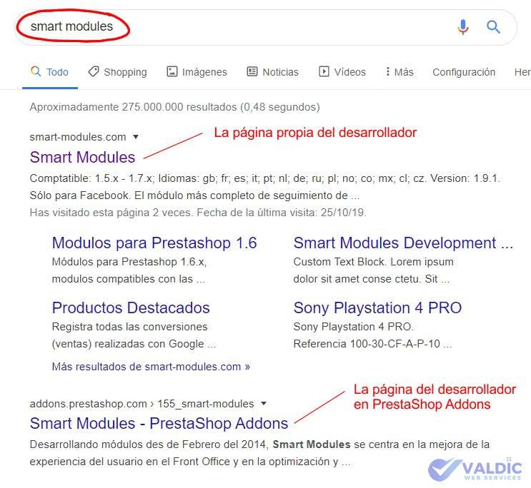 smart modules google